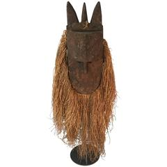 Mask. Toma, Guinea, West Africa.