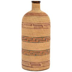 Native American Bottle, Micmac, 20th Century
