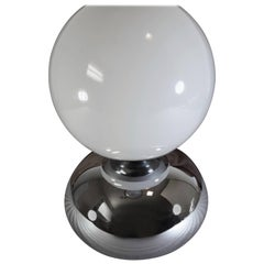 "Mid-Century Chrome ""Moon Light"" Table Lamp, circa 1970s"