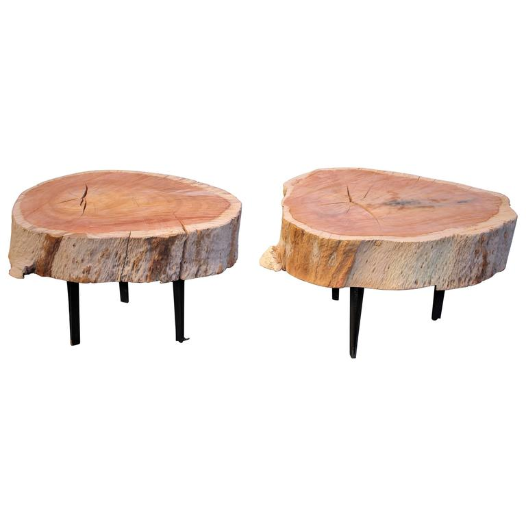 Side Tables by ACA Studio For Sale