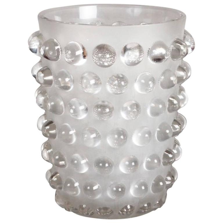 Lalique Mossi Grand Vase Clear Crystal For Sale At 1stdibs