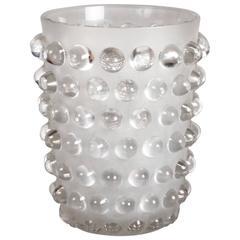 """René Lalique Vase """"Mossi"""""""