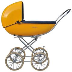 1960's French pram or stroller also works as carrycot