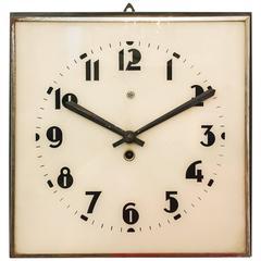 Beautiful, Rare Large Bauhaus Wall Clock