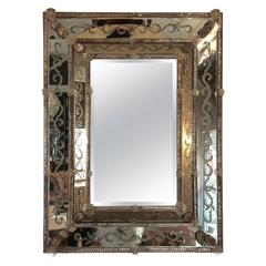 Magnificent Super Fancy Venetian Mirror
