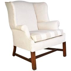 Classic Chippendale-Style Wingback