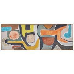 Pieter Kooistra Abstract Modern Painting, 1968