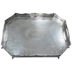 Silversmiths Company Regent Street London Tray