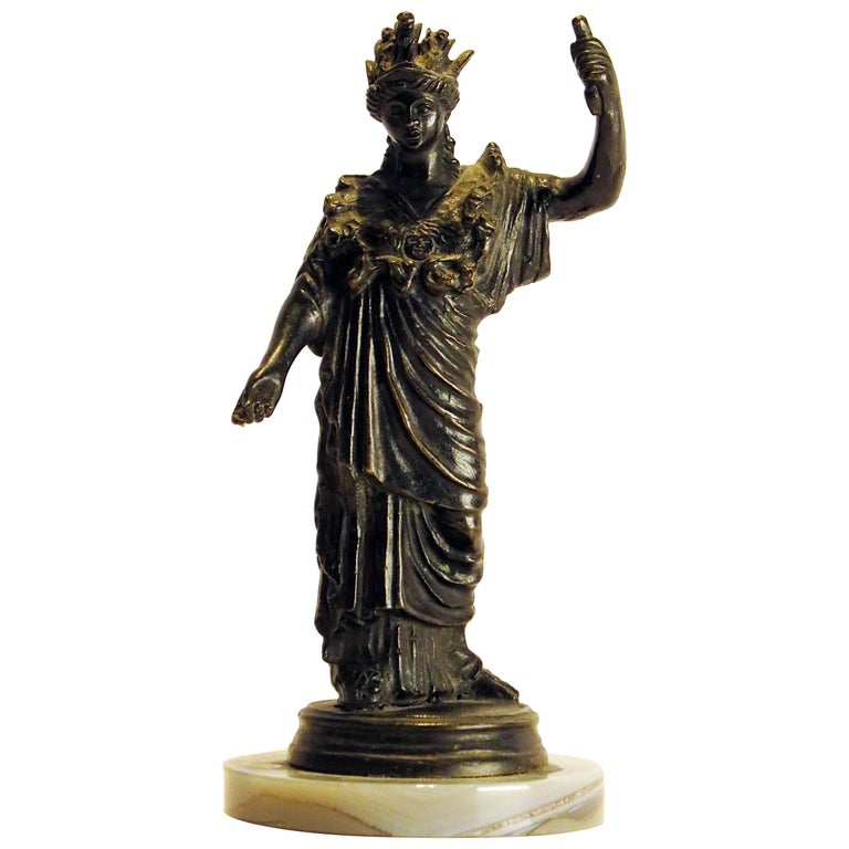 Grand Tour Bronze Casting of Athena, circa 1890