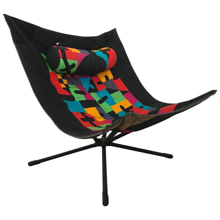 """Onda Chair And Ottoman In Missoni Fabric By Giovanni: Alberto Salviati And Ambrogio Tresoldi """"Miamina"""" Chair For"""