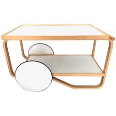 Alvar Aalto Tea Trolley / Bar Cart for Artek
