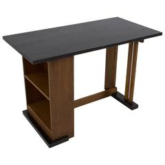 Important and Rare Art Deco Haagse School Desk by Cor Alons for L.O.V.