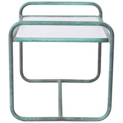 Patio Side Table by Walter Lamb