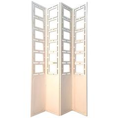 Decorative Four-Panel Screen or Room Divider