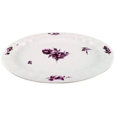 "Royal Copenhagen Huge ""Purpur"" Serving Plate"