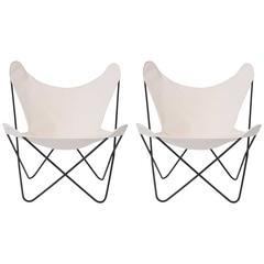 "31 ""Butterfly Chairs by Jorge Ferrari-Hardoy"