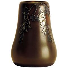 Small Mixed Metal Arts & Crafts Vase circa 1910