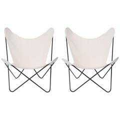 "32"" Butterfly Chairs by Jorge Ferrari-Hardoy"