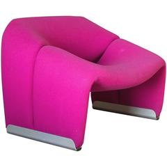 1972, Pierre Paulin, Artifort, Beautiful Groovy or F598 Easy Chair