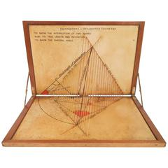 Geometric Instrument for Educational Purposes Made in 1920s