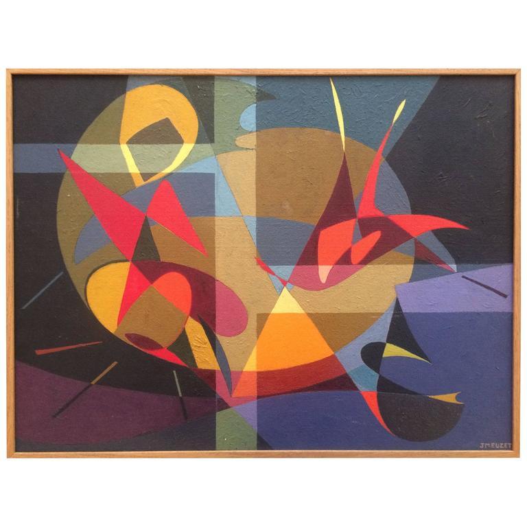 Musicalist Composition by Jean-Marie Euzet, 1950