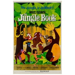 Jungle Book Original Us Film Poster, 1961