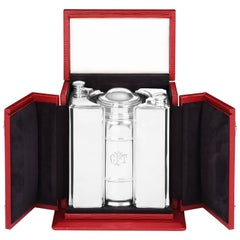 Art Deco Silver Cocktail Set by Lebkeucher & Co.