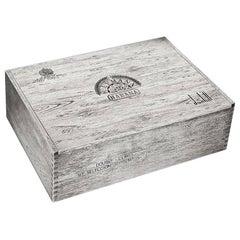 Unique Bulgari for Dunhill 'trompe l'oeil' Cigar Box