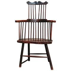 18th Century Comb Back Windsor Chair