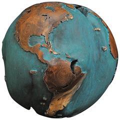 Globe Teak Root Copper Patina