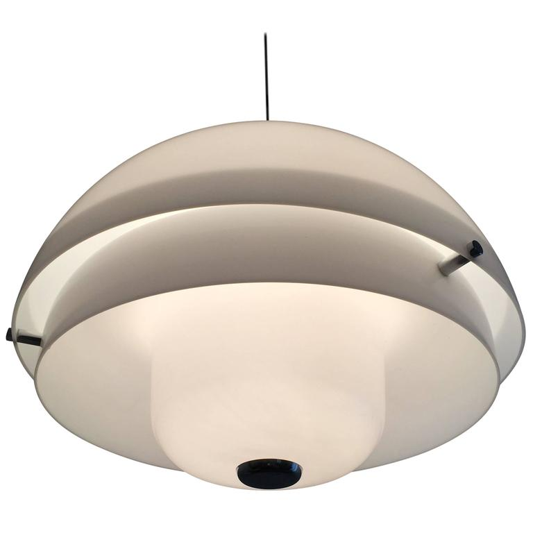"Luigi Massoni Ceiling Lamp ""Granada"" for Harvey Guzzini, Italy, 1967 For Sale"