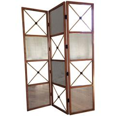 Monumental Super Tall Chic Room Divider Screen