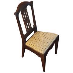 Antique Handcrafted Jugendstil Oak Miniature or Doll Chair Beautiful Design