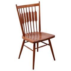 "Kipp Stewart Desk Chair ""Centennial"" in Solid Walnut by Drexel USA, 1950s"