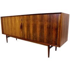 Rosewood Sideboard Model No.75 Designed by Arne Vodder for Sibast Furniture