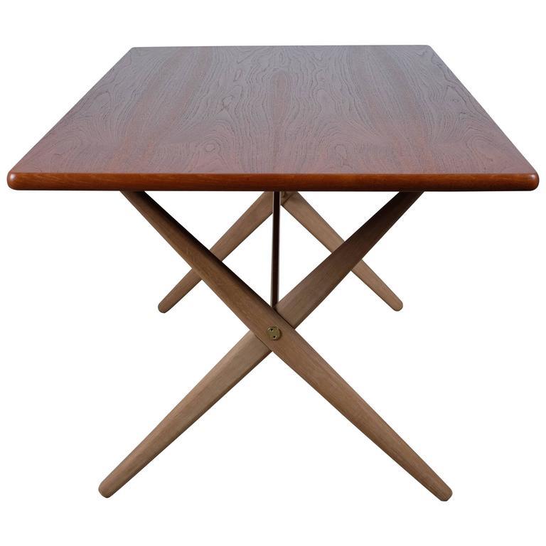 Amazing Dining Table Designed by Hans J. Wegner Model AT-303