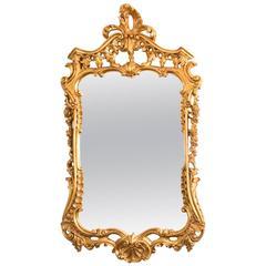 Beautiful Decorative Italian Giltwood Decorative Mirror