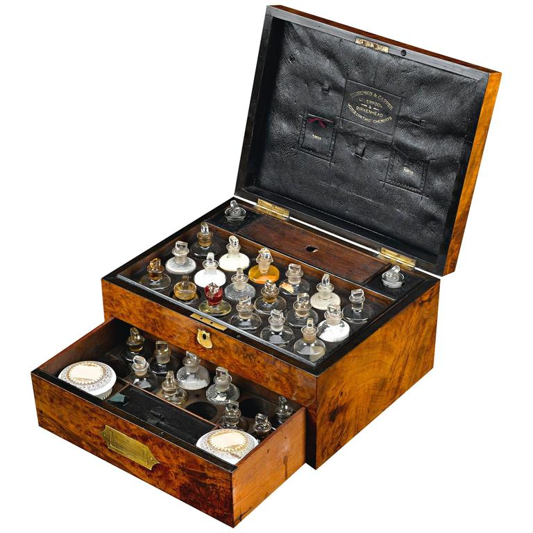 Domestic Medicine Chest by Thompson & Capper For Sale
