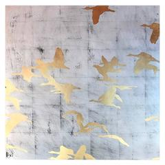 Painting of Migratory Birds by Tom Swanston