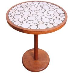 Gordon Martz Tile-Top Side Table by Marshall Studios