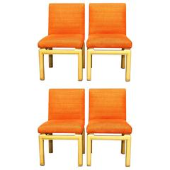 Set of Four Far East Dining Chairs