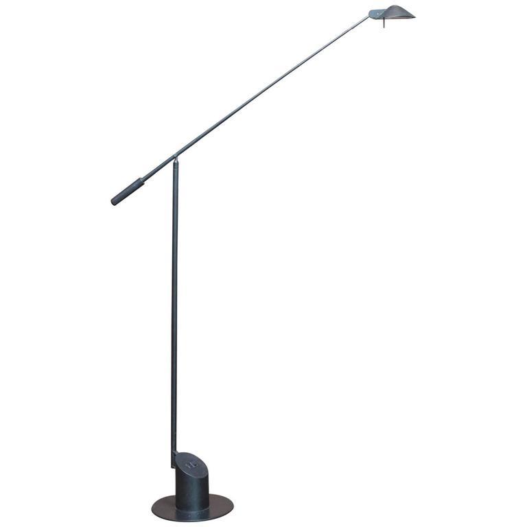 Robert Sonneman for George Kovacs Feather Floor Lamp For Sale at ...