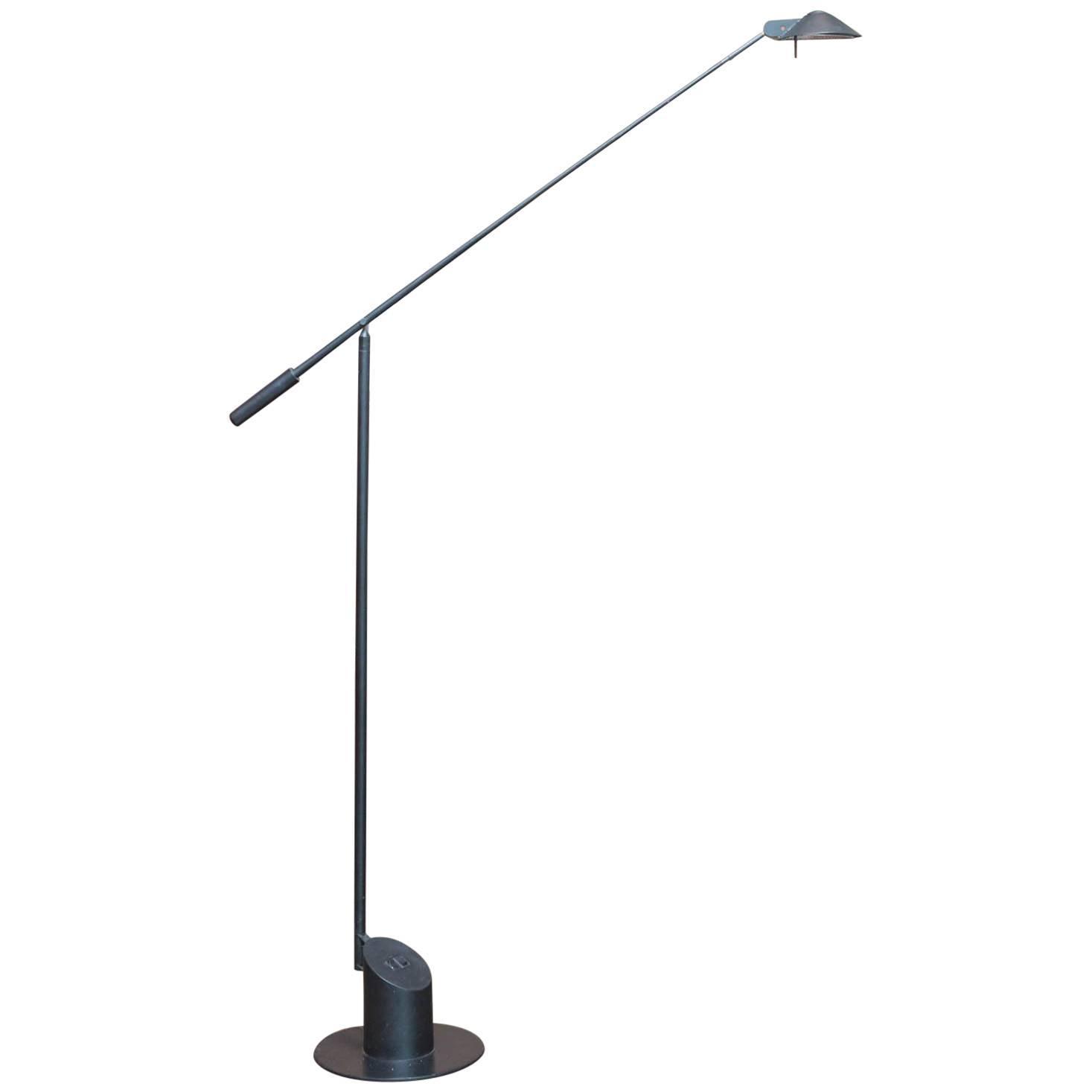 rudi stern neon floor lamp for george kovacs at stdibs - robert sonneman for george kovacs feather floor lamp