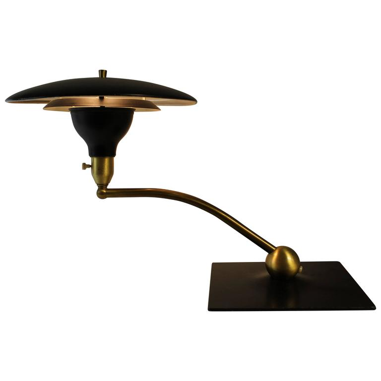 M G Wheeler Sight Light Swivel Desk Lamp