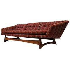 Adrian Pearsall for Craft Associates Sculptural Mid-Century Modern Sofa