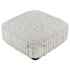 Square Limburg Bubble Textured Flush Mount