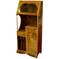 Louis Majorelle Cabinet with Wisteria Marquetry