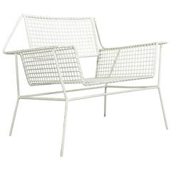 American Mid-Century Modern Garden Armchair