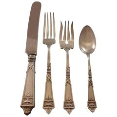 Lansdowne by Gorham Sterling Silver Flatware Set for Six Service 37 Pieces