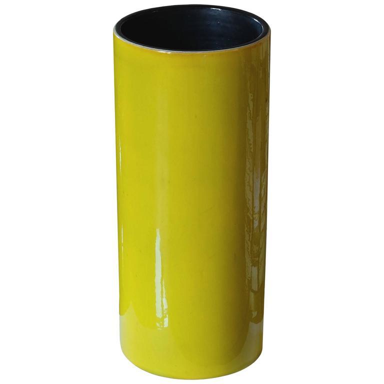 "Georges Jouve, ""Cylinder"" Vase, circa 1960"